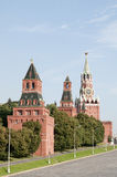 Moscow Kremlin Towers Royalty Free Stock Photography