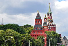 Moscow Kremlin towers Royalty Free Stock Image