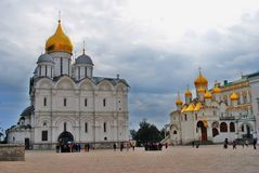 Moscow Kremlin. UNESCO Heritage. Stock Photo