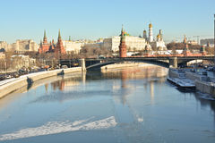 The Moscow Kremlin is a UNESCO world cultural heritage Stock Photos