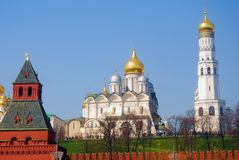 Moscow Kremlin. UNESCO World Heritage Site. Royalty Free Stock Photography