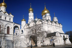 Moscow Kremlin. UNESCO World Heritage Site. Royalty Free Stock Images