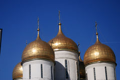 Moscow Kremlin. UNESCO World Heritage Site. Royalty Free Stock Photo