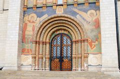 Moscow Kremlin. UNESCO World Heritage Site. Assumption church Royalty Free Stock Photos