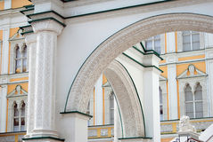 Moscow Kremlin. UNESCO World Heritage Site. Faceted Chamber. Royalty Free Stock Photo