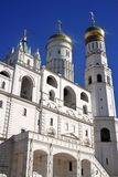 Moscow Kremlin. UNESCO World Heritage Site. Ivan Great bell tower. Stock Photography