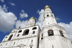 Moscow Kremlin. UNESCO World Heritage Site. Ivan Great Bell tower Royalty Free Stock Image