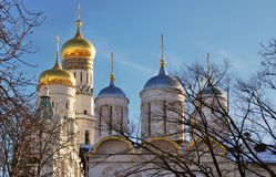 Moscow Kremlin. UNESCO World Heritage Site. Stock Photography