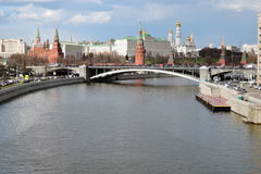 Moscow Kremlin. UNESCO World Heritage Site. Stock Photos