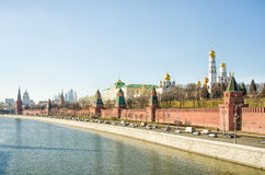 Moscow Kremlin. View of the Moscow Kremlin Royalty Free Stock Photos