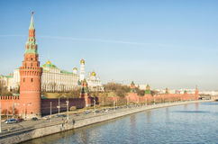 Moscow Kremlin. View of the Moscow Kremlin Royalty Free Stock Images