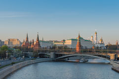 Moscow the Kremlin Stock Photography