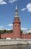 Moscow Kremlin view from river. Stock Photography