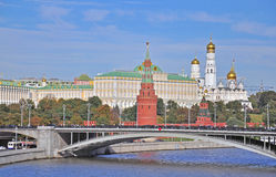 Moscow Kremlin view Stock Image