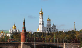 Moscow Kremlin views Royalty Free Stock Photography