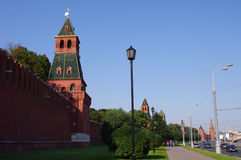 Moscow Kremlin Wall, Russia. Moscow Kremlin Wall, Moscow, Russia Royalty Free Stock Image