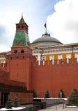 Moscow, Kremlin wall Stock Photo