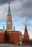 Moscow, Kremlin wall Royalty Free Stock Photo