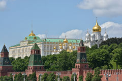 The Moscow Kremlin. Stock Image