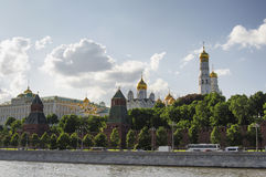 MOSCOW KREMLIN. And the waterfront. Moscow. Russia Stock Photos