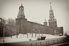 Moscow Kremlin in winter Royalty Free Stock Image