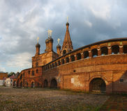 Moscow. On Krutitskoye evening after a summer rain Royalty Free Stock Photography