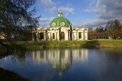 moscow Kuskovo grota Obraz Royalty Free