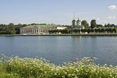 Moscow, Kuskovo palace Royalty Free Stock Image