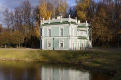 moscow Kuskovo Włoszczyzna dom Obrazy Stock