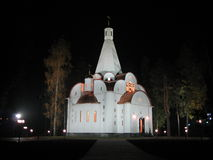 Moscow kyrka Arkivfoton