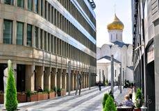 Moscow kyrka Arkivfoto