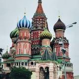 Moscow kyrka Fotografering för Bildbyråer