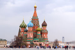 Moscow Landmark Red Square Stock Images