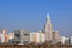 Moscow landscape Royalty Free Stock Photography