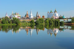 Moscow landscape. Kremlin in Izmailovo. Stock Photo