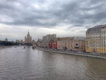 Moscow landscape Stock Photo