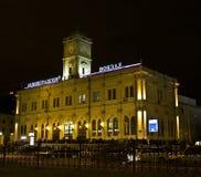 moscow leningradskiy stacja kolejowa obrazy royalty free