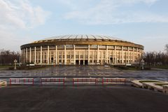 Moscow Luzhniki Stadium Stock Photography