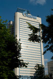 Moscow. The main building of RAO GAZPROM Company royalty free stock photo