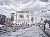 moscow Manezhnaya kwadrat terenu miasta ulicy Moscow fotografii ulicy Zdjęcia Stock