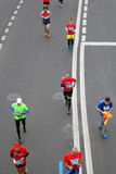 Moscow Marathon Stock Photography