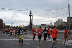 Moscow Marathon Royalty Free Stock Photo