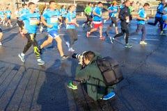 Moscow marathon Royalty Free Stock Photography
