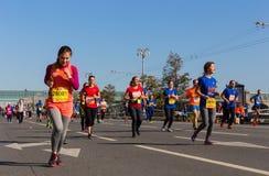 Moscow Marathon of 2017 Royalty Free Stock Photos