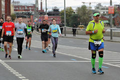 Moscow Marathon Royalty Free Stock Image