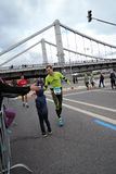 Moscow Marathon Stock Image