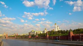 Moscow. May Day demonstration stock footage