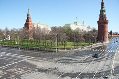 Moscow in May Stock Photography