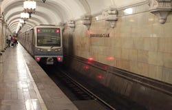 Moscow metro Arkivfoto