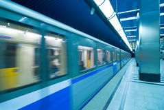 Moscow metro passengers royalty free stock photo